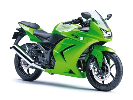 Kawasaki 250r Ninja. the Ninja 250R to