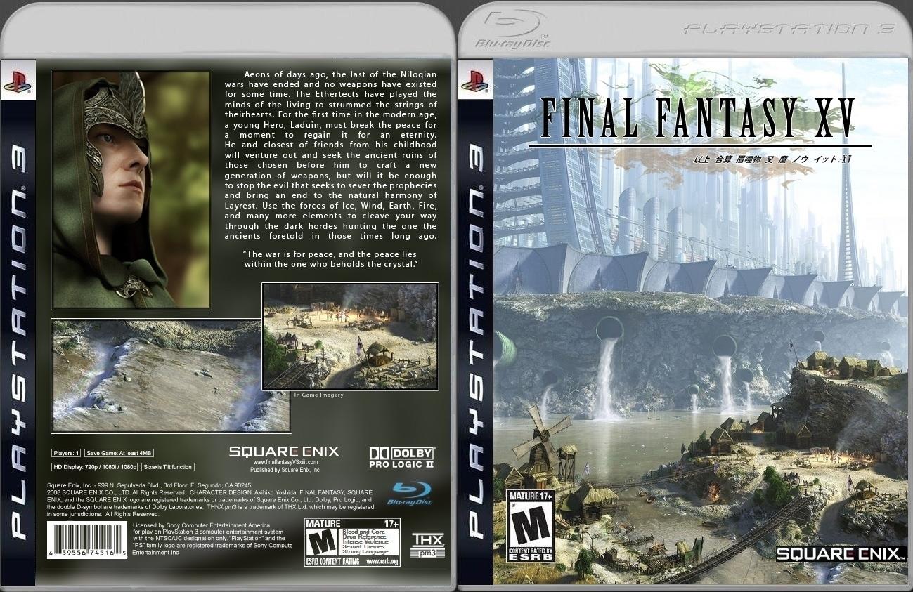 Final Fantasy Viii Remake Ps4 Final-fantasy-xv-english-ps4